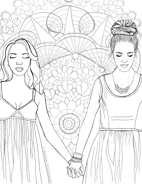 colour, colouring sheet, colouring contest, toronto artist, love, toronto portrait artist, canadian portrait artist, love is love, all love is good love, colouring page about love, beauty