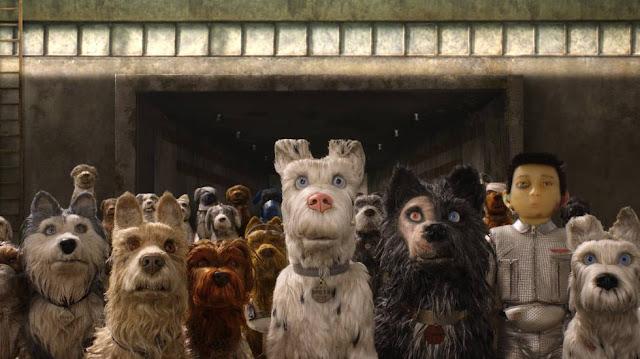 Fotograma de la película Isla de Perros de Wes Anderson