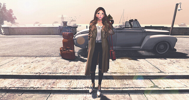{amiable}Spring Trench Coat Gacha@ the Chapter Four April.