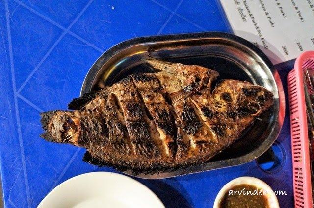 bbq fish yangon