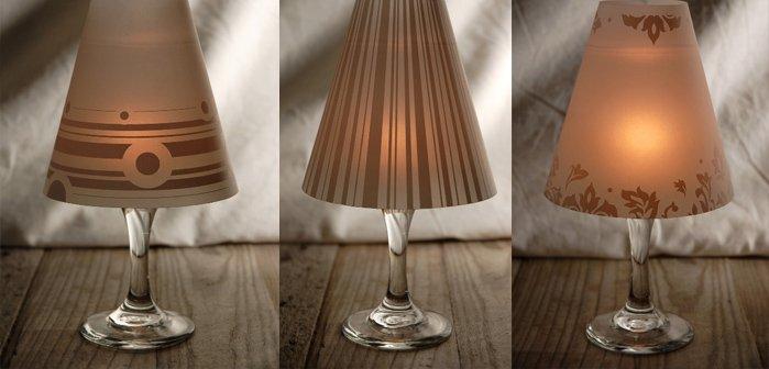 Como Hacer Lamparas Usando Copas De Cristal - Ideas-para-hacer-lamparas