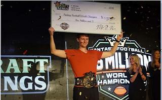 "Aaron ""aejones"" Jones Wins $5 Million in the DraftKings FFWC"