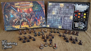 dungeons & dragons fantasy adventure board game painted pieces figures