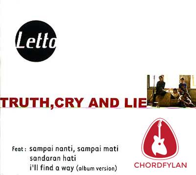 Lirik dan chord Ruang Rindu - Letto