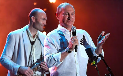 Vladimir Putin visited the 15th Koktebel Jazz Party international festival.