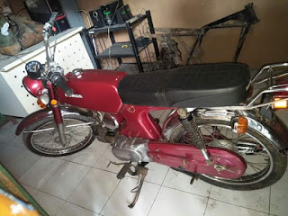 Jual Klasik Honda benly 1975 siap jalan jalan sore,,,