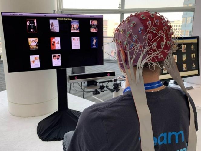 Trabajan en 'software' para controlar la 'tele' con los ojos