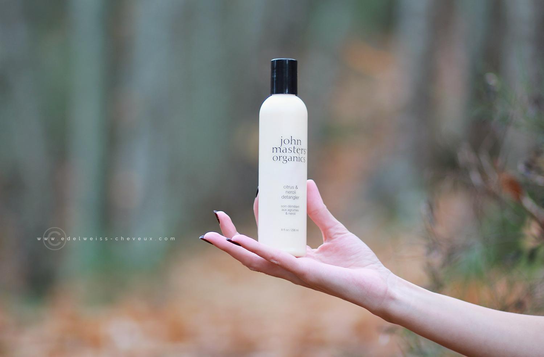 avis john masters organics apres shampoing agrumes et neroli