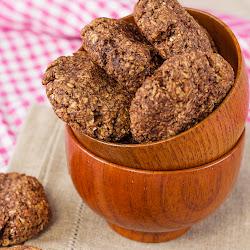 Posni ovseni keks sa kokosom