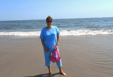 Collecting Seashells in Wildwood New Jersey