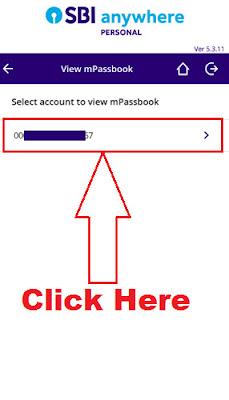 sbi online passbook balance check