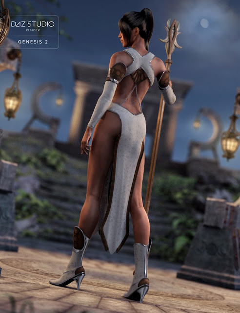 Moon Goddess for Genesis 2 Female