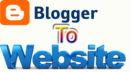 blog ko website me badle