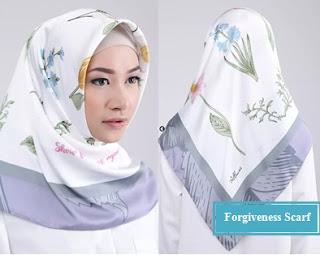 model jilbab Forgiveness scarf untuk ibu pejabat