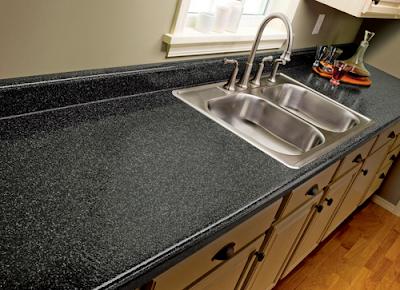 Desain Meja Dapur Dari  Batu Marmer Untuk Rumah Minimalis 2
