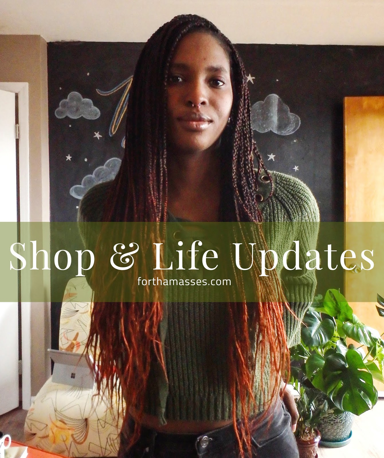 Brief update about life and opening of the online shop