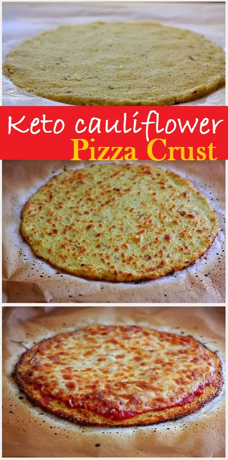 Keto Cauliflower Pizza Crust Recipes