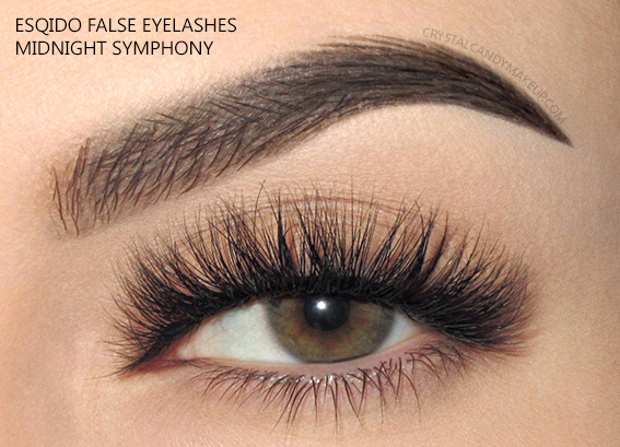 Esqido False Lashes Noire Collection Midnight Symphony