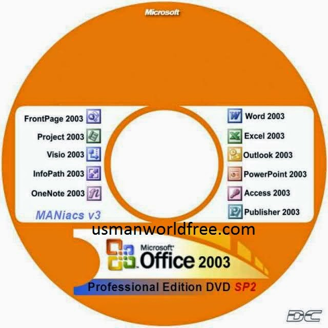 Microsoft Office 2003 - Arsal funmaza - office cd