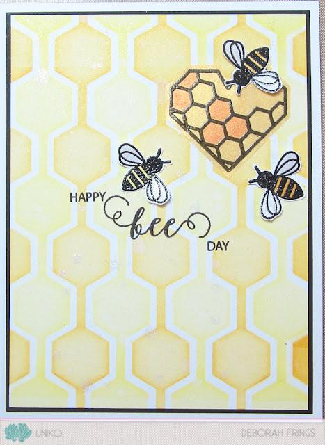 Happy Bee Day - photo by Deborah Frings - Deborah's Gems