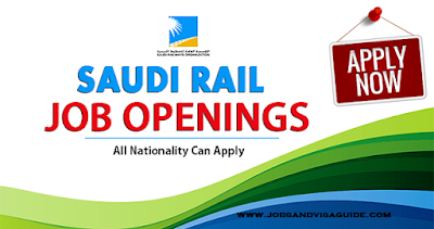 Latest Job Vacancies At Saudi Rail