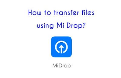 Cara Transfer File Data Menggunakan Fitur Mi Drop MIUI Xiaomi