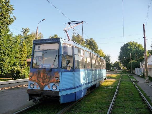 Конотоп. Трамвай № 2