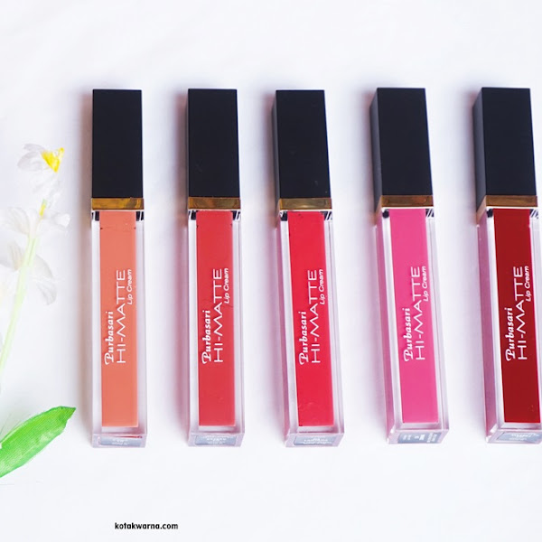 Review Purbasari Hi Matte Lip Cream Hydra Series