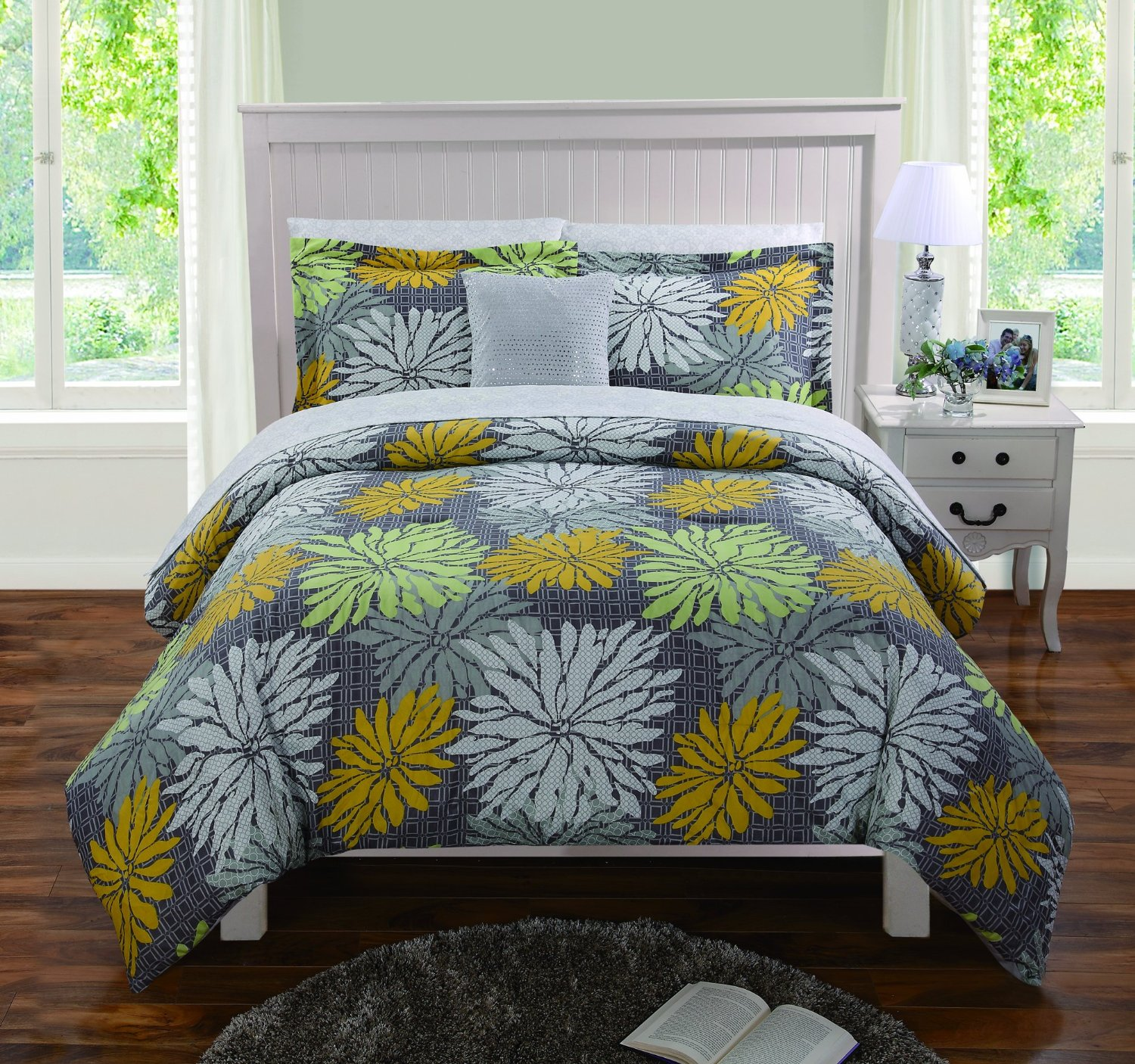 Lovely Mustard Yellow Comforters and Bedding Sets YT76