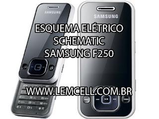 Esquema Elétrico Celular Smartphone Celular SAMSUNG F250 Manual de Serviço  Service Manual schematic Diagram Cell Phone Smartphone Celular SAMSUNG F25