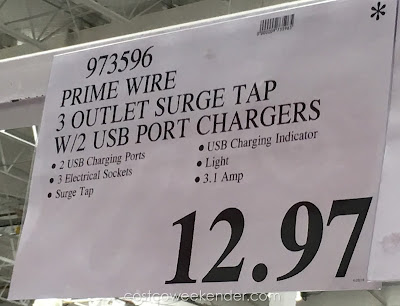 Deal for the Prime Wire Home and Office Surge Protector Pack at Costco