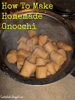 May SRS: How To Make Homemade Gnocchi by Custom Taste