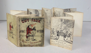 Guy Fawkes accordion book