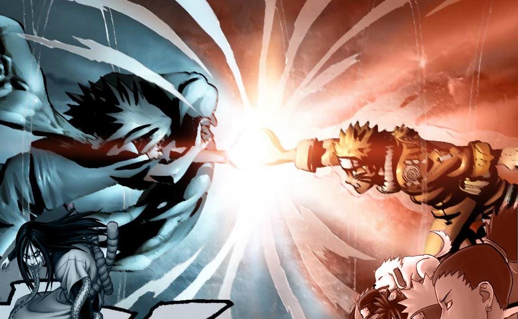 naruto vs sasuke | Anime Wallpaper