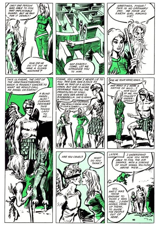 Atomic Kommie Comics: Reading Room: BARBARELLA 2.2