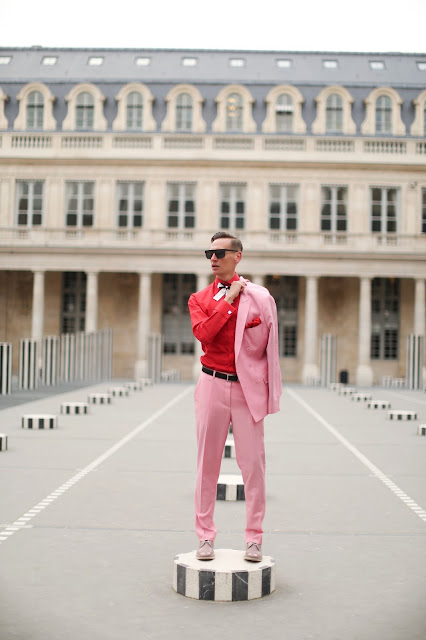 MEN WHO WEAR PINK SUPER STYLE