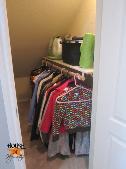 How to organize an under the stairs closet! OMF to the
