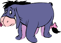 Whenever I think of house-hunting, I think of Eeyore.