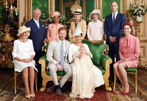 Queen Elizabeth, Prince William, Kate Middleton, Meghan Markle and Prince Harry, celebrate Archie's 1st birthday