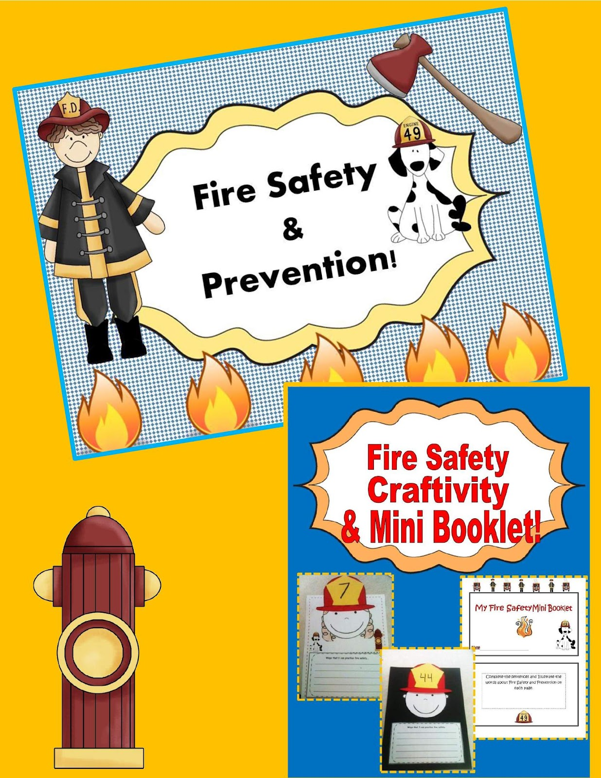 Engaging Lessons And Activities Fire Safety Activities