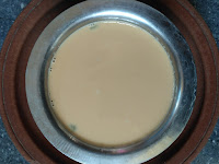 Sprouted Peanut milk  with Jaggery & Cardamom powder