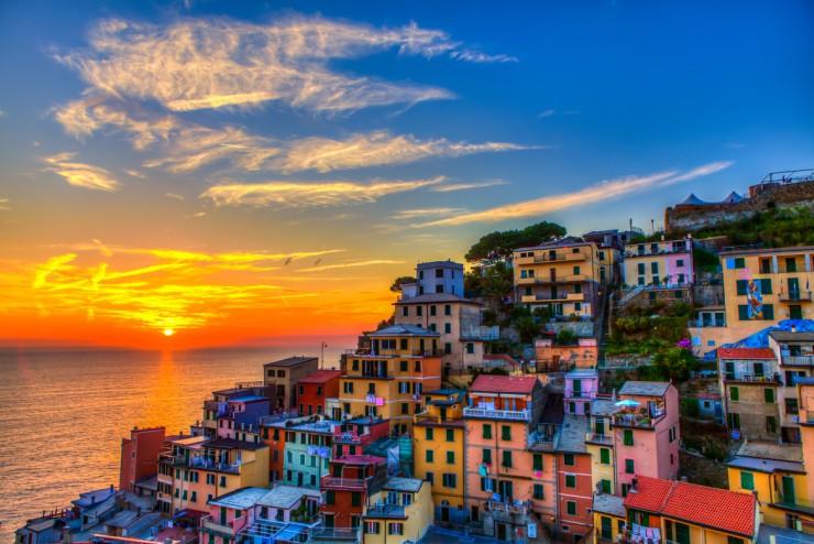 Top 10 Wonders of the Mediterranean World - Cinque Terre, Italy