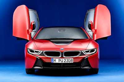 BMW i8 Protonic Red Edition (2016) Front
