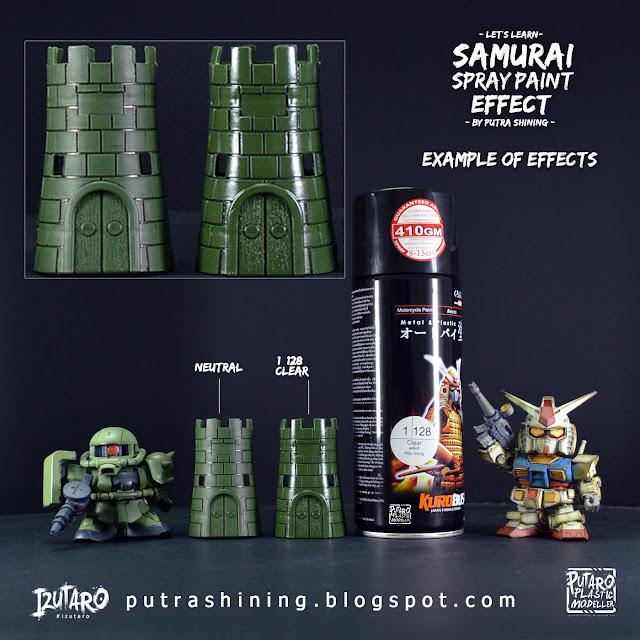 Tutorial Samurai Spray Paint Top Coat by Putra Shining