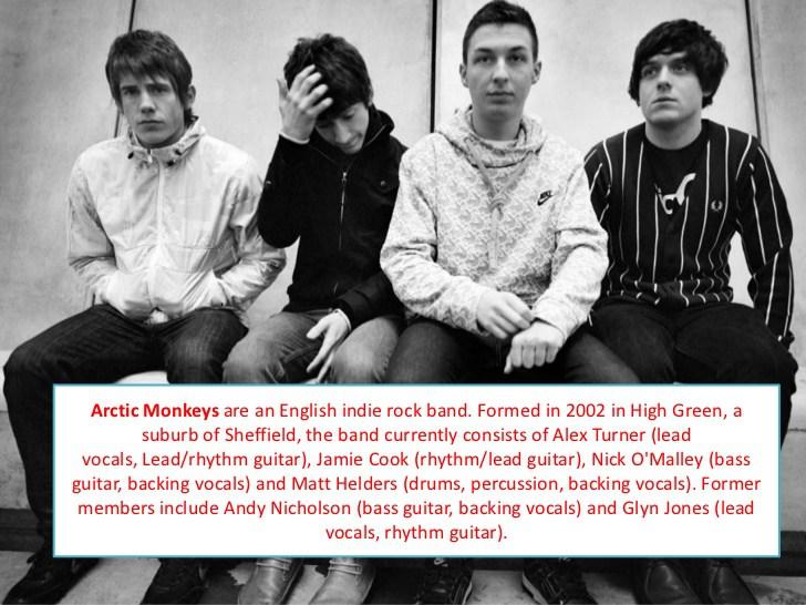Arctic Monkeys Wikipedia - glyn jones arctic monkeys