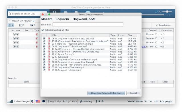تحميل, تطبيق, التورنت, ومشاركة, الملفات, فروست, وير, لانظمة, ماك, FrostWire ,for ,Mac, بأحدث, اصدار