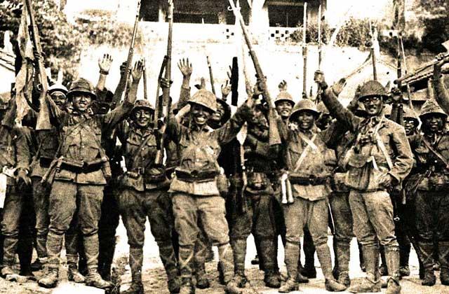 Japanese capture Manila, 2 January 1942 worldwartwo.filminspector.com