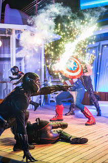Captain America At Disneyland Paris