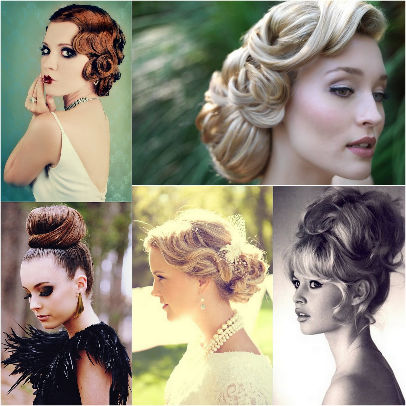 Effortless Bridesmaid Upstyles: Tales From Taj: Wedding Hair Trends For 2013