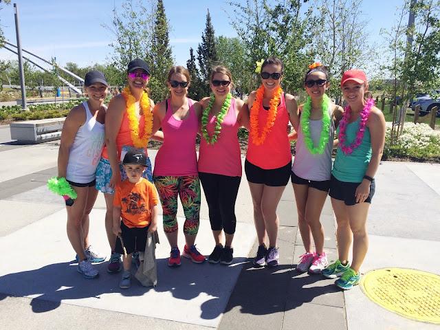 St Patrick's Island Fun Run Calgary Bloggers